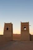 Marocco, África-deserto Imagem de Stock Royalty Free
