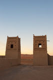Marocco, Afrika-Woestijn Royalty-vrije Stock Afbeelding