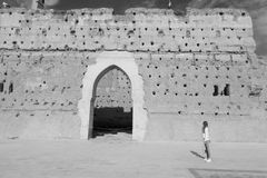 Marocco в b Стоковое Изображение