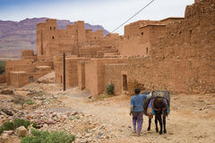 Marocco   old city landscape Stock Photos