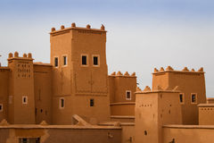 Marocco   old city landscape Royalty Free Stock Photo