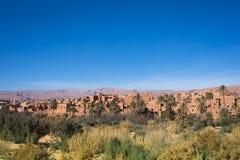 Marocco   old citylandscape Stock Photography