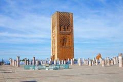 Marocco Rabat hassan torn Royaltyfri Fotografi