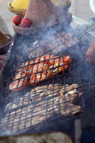 Marocco typical grill food Royalty Free Stock Image