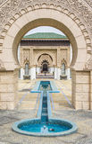Marockansk arkitektur Arkivfoto