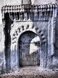 Marockansk dörröppning Royaltyfri Fotografi