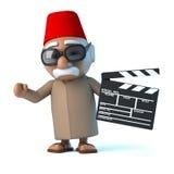 marockansk 3d gör en film Arkivfoto
