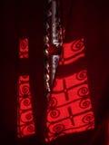 Marockansk gardin Arkivfoton