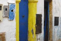 Marockansk gata Essaouira Royaltyfri Foto
