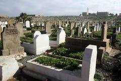 Marockansk kyrkogård, Rabat Royaltyfria Foton