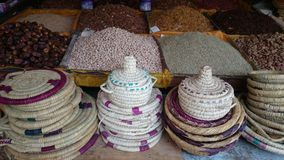 Marockansk marknad Royaltyfria Bilder
