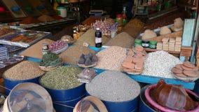 Marockansk marknad Arkivfoto