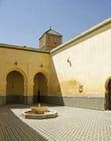 Marockansk mausoleum Arkivbild