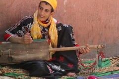 Marockansk musiker Royaltyfria Foton