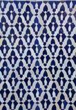 Marockansk tegelplattamodell Royaltyfri Fotografi