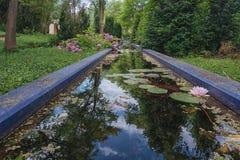 Marockansk trädgårds- kopia i parkera Arkivfoto