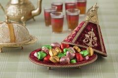 Marockanska festliga sötsaker Royaltyfri Bild