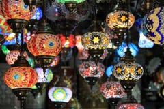 Marockanska lampor Royaltyfria Bilder