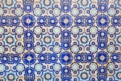 Marockanska tegelplattor Arkivbild