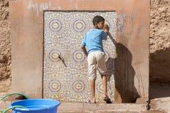 Marockanskt barn Royaltyfri Fotografi
