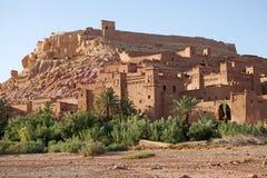 Marocko Ait Benhaddou Arkivbild