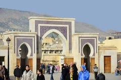 Marocko Fes Arkivbilder