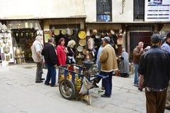 Marocko Fes Arkivfoto