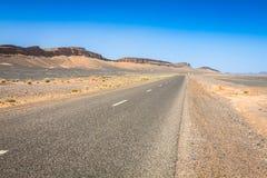 Marocko höga kartbokberg, jordbruks- land på det fertilt Royaltyfri Bild