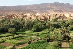 Marocko liggande Royaltyfri Fotografi