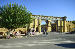 Marocko Meknes Arkivbild