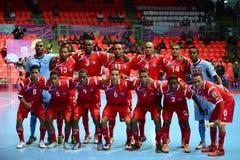Marocko nationellt futsal lag Fotografering för Bildbyråer