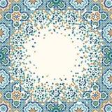 Marocko nedbrytningbakgrund stock illustrationer