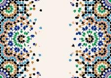 Marocko nedbrytningmall vektor illustrationer