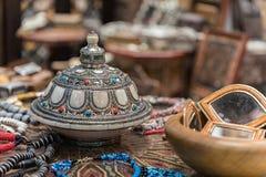 Marocko objekt royaltyfria bilder