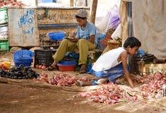 Marocko souk Royaltyfri Fotografi