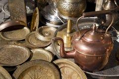 Marocko teapot Royaltyfri Fotografi