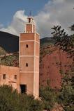 Marocko - typisk moské Royaltyfri Foto