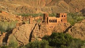 Marocko utsikt de la kasba Forntida historia royaltyfri foto