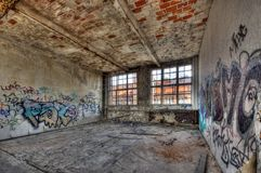 Marode building. Of an old manufacturing site in Berlin Stock Photo
