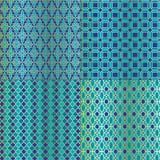 Marokańczyk płytki wzory Zdjęcie Royalty Free