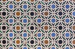 Marokańczyka Zellige płytka Zdjęcie Royalty Free