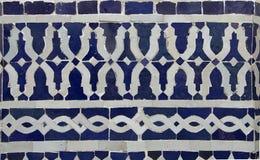 Marokańczyka Zellige płytki wzór Obrazy Royalty Free
