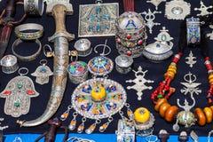 Marokańska biżuteria Fotografia Royalty Free