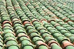 Marokańska dachowa płytka w fortecy Essaouira Maroko Zdjęcie Royalty Free