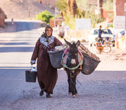 marokańska kobieta fotografia stock