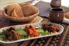 marokańska sałatka Fotografia Royalty Free