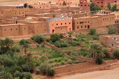 Marokańska wieś Zdjęcia Royalty Free