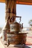 Marokański herbaciany czajnik Fotografia Stock