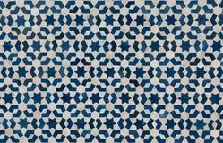 Marokański rocznik płytki tło Zdjęcie Royalty Free