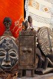Marokański souk wykonuje ręcznie pamiątki w Medina, Essaouira, Maroko Zdjęcia Royalty Free